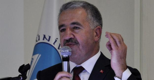 Bakan Arslan: 'Dünden daha çok çalışmalıyız'