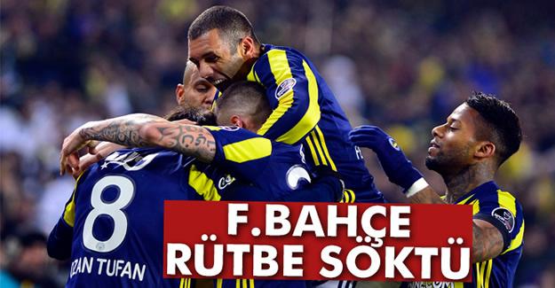 Fenerbahçe Rütbe Söktü!