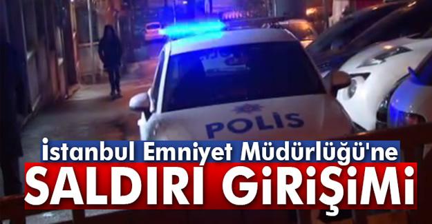 İstanbul Emniyet Müdürlüğüne roketatarlı saldırı girişimi
