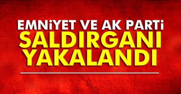 İstanbul Emniyeti ve AK Parti binasına saldıran terörist yakalandı