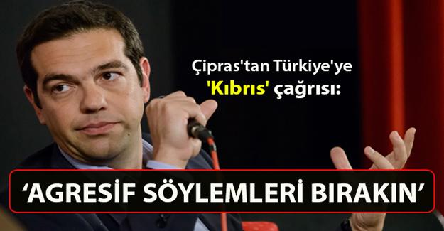 Yunanistan Başbakanı Çipras'tan Kıbrıs açıklaması