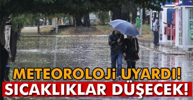 Yurt genelinde yağış uyarısı!