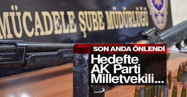AK Partili vekile suikast son anda önlendi