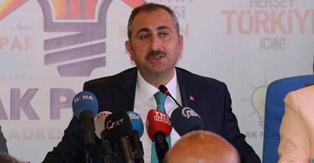 Adalet Bakanı Gül'den sert mesajlar