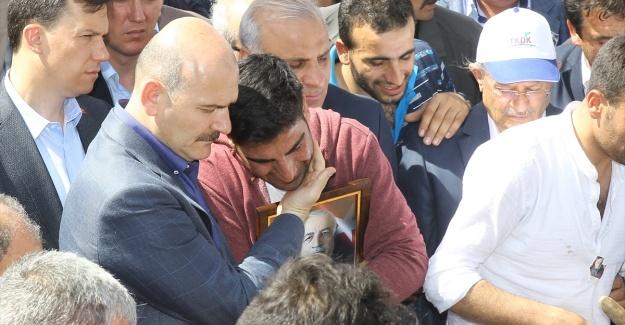 AK Partili Aydın Ahi, gözyaşları arasında toprağa verildi