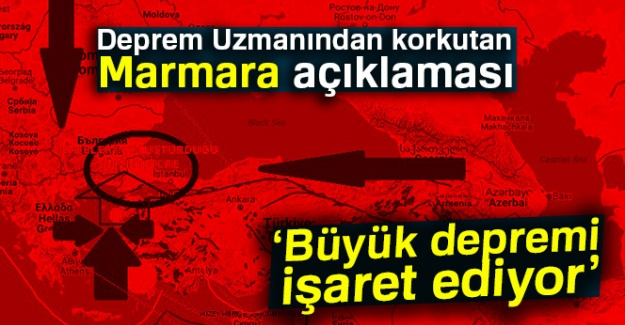 Flaş açıklama: ''Marmara Denizi'nin aşırı sıcaklığı deprem işareti olabilir''