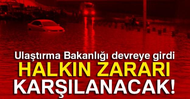 Ulaştırma Bakanlığı devreye girdi: Halkın zararı karşılanacak!