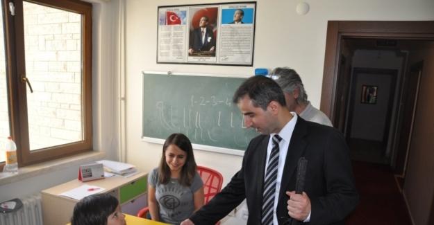 Bakanlıktan Türkiye'nin ilk ve tek özel eğitim merkezine ziyaret