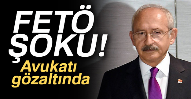 Kemal Kılıçdaroğlu'na FETÖ şoku!