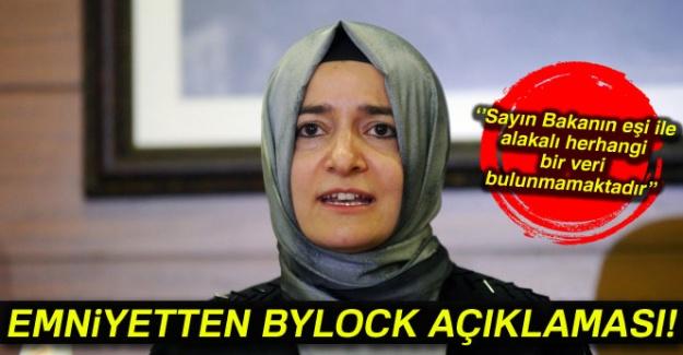 Emniyet Genel Müdürlüğünden bylock iftirası için açıklama!