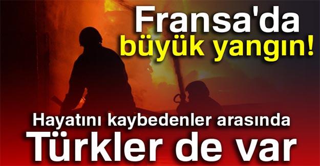 Fransa'daki yangında 3 Türk hayatını kaybetti