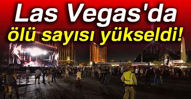 Las Vegas'da ölü sayısı yükseldi