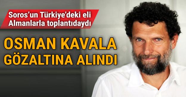 Osman Kavala sorgulanıyor