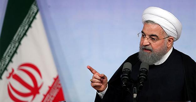 Ruhani'den Trump'a sert tepki