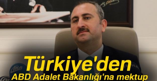 Türkiye'den ABD Adalet Bakanlığı'na mektup