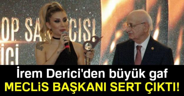İrem Derici'den Meclis Başkanı Kahraman'a büyük gaf!