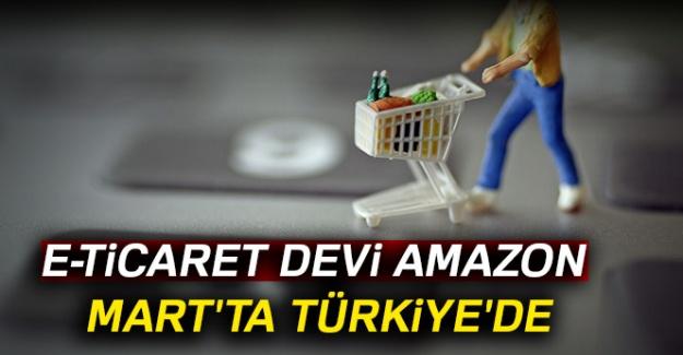 e-Ticaret devi Amazon Mart'ta Türkiye'de