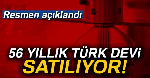 56 yıllık Türk devi tüm varlıklarını satıyor!