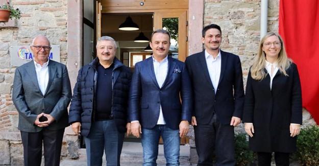 AK Partili Şengül ve Nasır'dan TARKEM'e Ziyaret