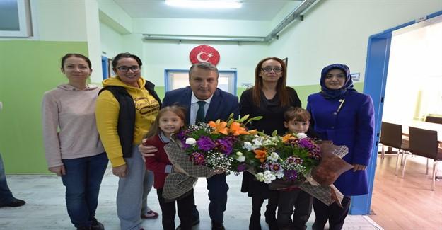 Başkan Çerçi'den Öğretmenler Günü Mesajı