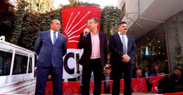 CHP Manisa Teşkilatı Sarıgöl'de