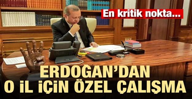 Erdoğan'dan O İl İçin Özel Çalışma