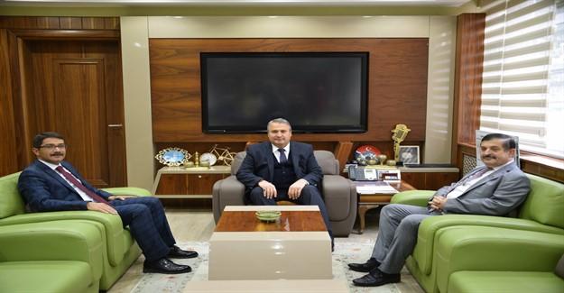 Şehzadeler Kaymakamı'ndan Başkan Çerçi'ye İade-i Ziyaret