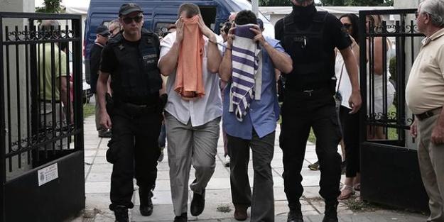 Yunanistan'a kaçan darbeciler için karar
