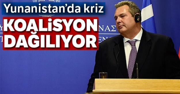 Yunanistan'da hükümet krizi !