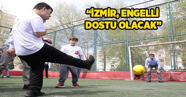 Zeybekci: İzmir, engelli dostu olacak