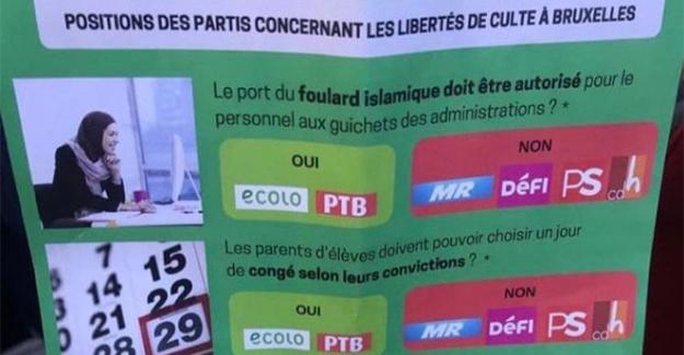 Belçika'da Müslümanlara hak isteyen broşüre yasak getirildi