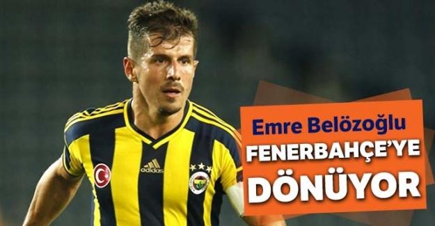 Emre Belözoğlu Fenerbahçe'ye dönüyor