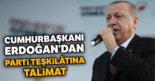 Erdoğan: Sanatınızla konuşun dalkavukluk yapmayın