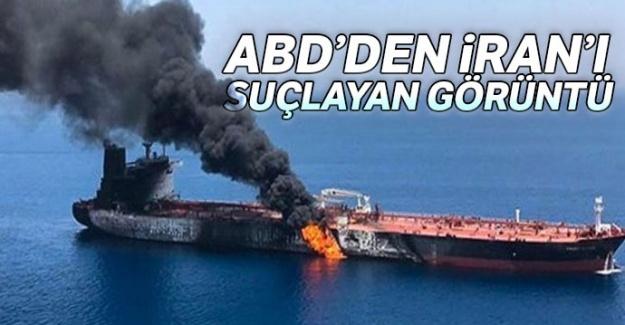 ABD, İran'ın vurulan tankerden patlamamış mayınları topladığını iddia etti