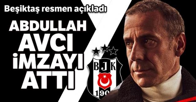 Beşiktaş, Abdullah Avcı ile 3 yıllığına anlaştı