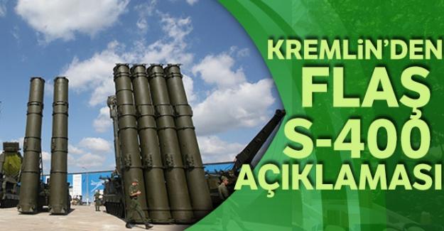 Kremlin'den S-400 açıklaması