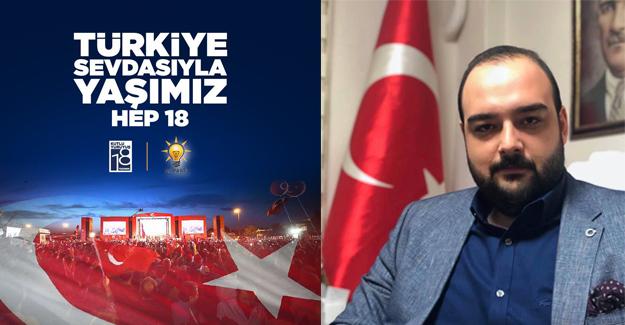 Başkan Yıldızhan: AK Parti, milletimizin en büyük hizmetkarıdır