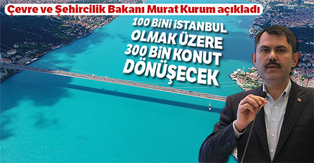 Bakan Kurum, 5 yıllık kentsel dönüşüm eylem planını açıkladı
