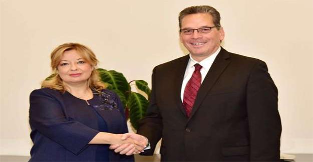 Cumhurbaşkanı Başdanışmanı Aybet, Nick Kass ile görüştü