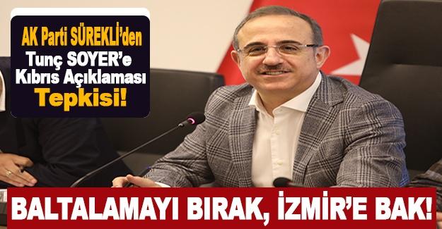AK Partili Sürekli'den Tunç Soyer'e Kıbrıs Açıklaması Tepkisi!