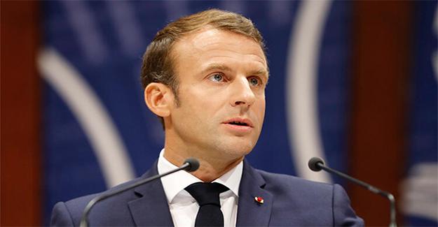 Macron'dan cami saldırısına ilişkin açıklama
