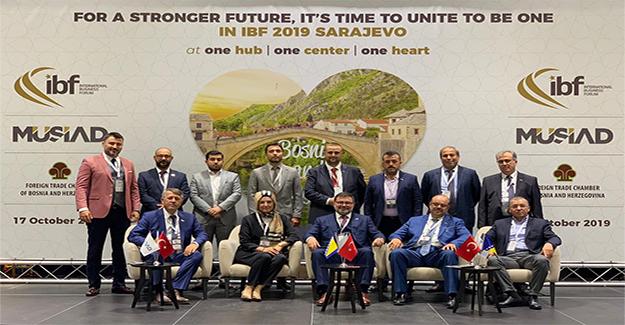 MÜSİAD Bosna Kapıları Üzerinden Avrupa'ya Açılıyor