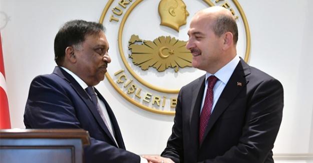 Bakan Soylu, Bangladeşli mevkidaşını ağırladı