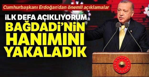 Cumhurbaşkanı Erdoğan: 'İlk defa açıklıyorum...
