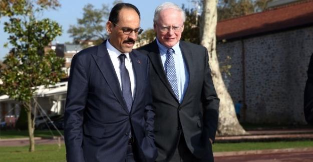 Cumhurbaşkanlığı Sözcüsü Kalın, ABD'nin Suriye Özel Temsilcisi ile görüştü
