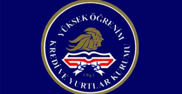 KYK Genel Müdürlüğü'nden burs ve kredi açıklaması