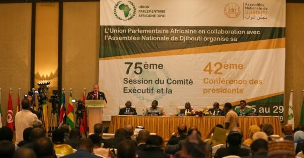 TBMM Başkanı Şentop, 42. Afrika Parlamenterler Birliği Konferası'nda konuştu