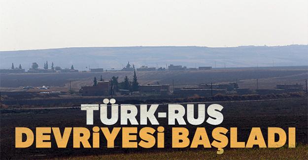 Türk-Rus devriyesi başladı