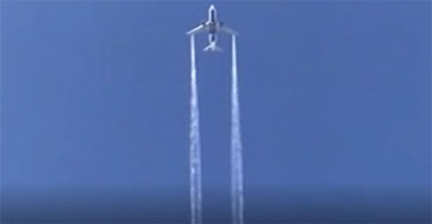 ABD'de acil iniş yapan uçak yakıtını okulun üstüne boşalttı