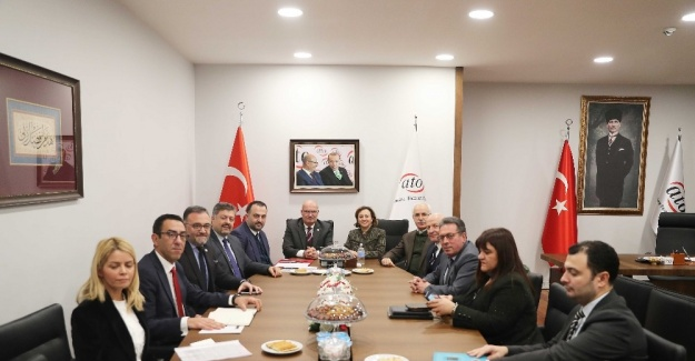 Bakan Yardımcısı Yavuz'dan ATO Başkanı Baran'a ziyaret